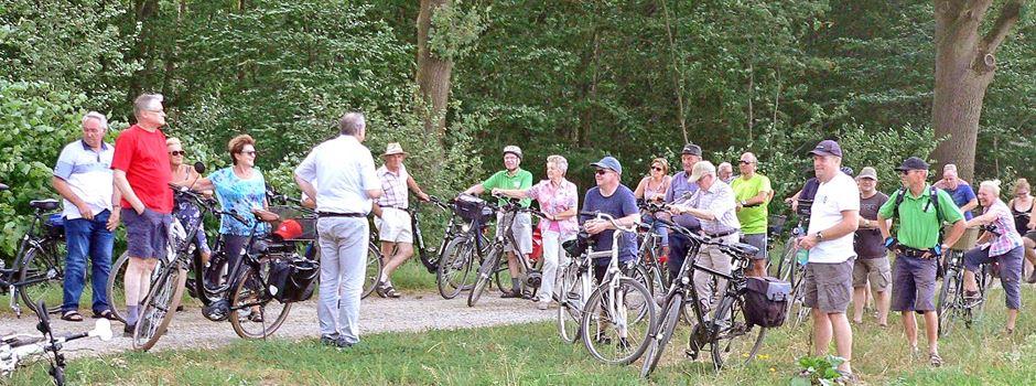 Radtour mit Uwe Wrieden