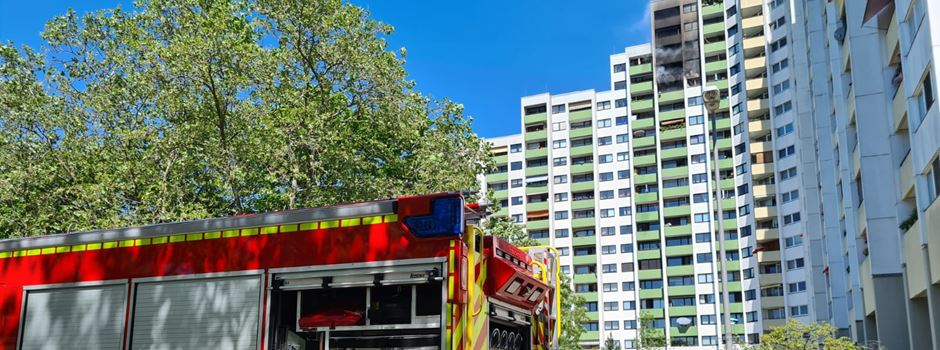 Nach Vollbrand in Mainzer Hochhaus: 14. Stockwerk unbewohnbar