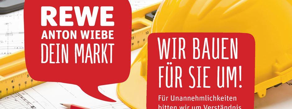 Werbung: REWE Markt in Herzebrock baut um