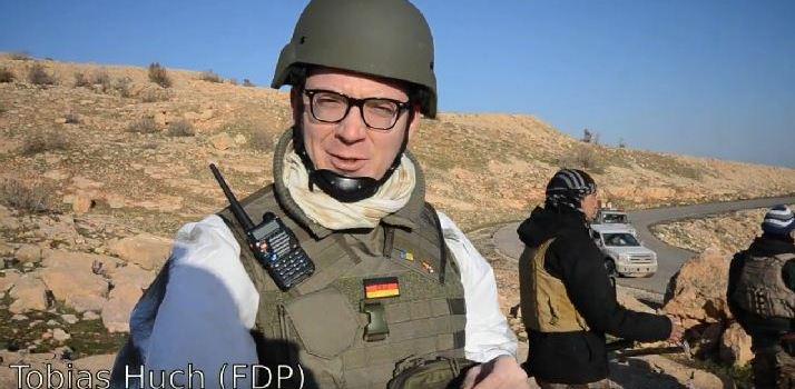 Huchs Einsatz für die Kurden