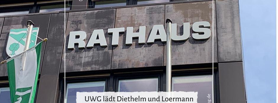 UWG lädt Diethelm und Loermann zur Kandidatenvorstellung