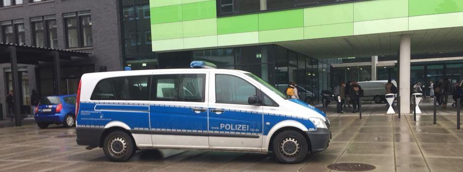 Polizeieinsatz auf dem Campus