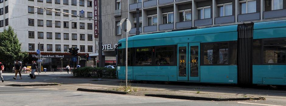 Straßenbahn behindert: Mann muss für Ersatzverkehr zahlen