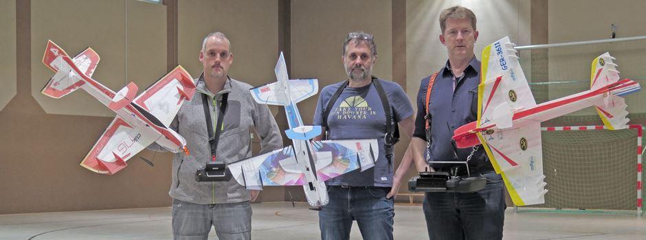 Wenn federleichte Modelle im eingeschränkten Luftraum fliegen