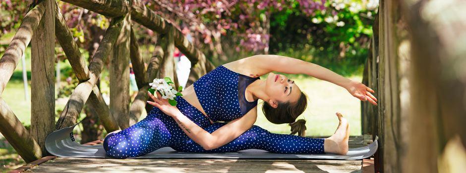 Yoga im Kö-Park: Sport in der Augsburger Innenstadt