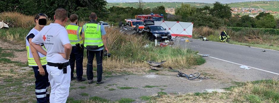 Zwei tote Radfahrer nach Verkehrsunfall
