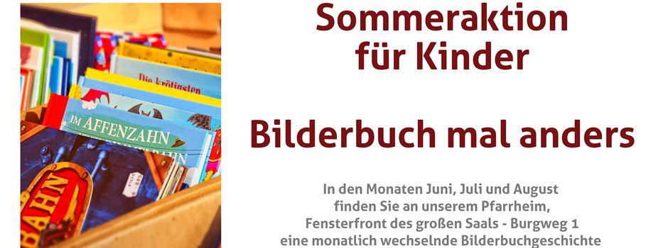 Sommeraktion für Kinder: Pfarrbücherei Zündorf