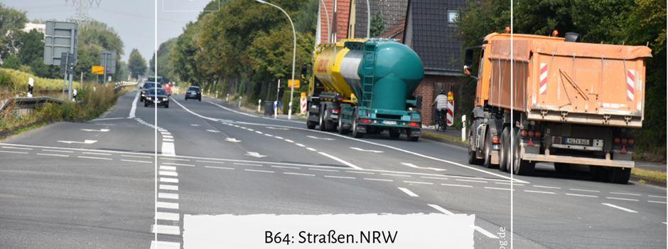 B64: Straßen.NRW veröffentlicht die Verkehrsgutachten