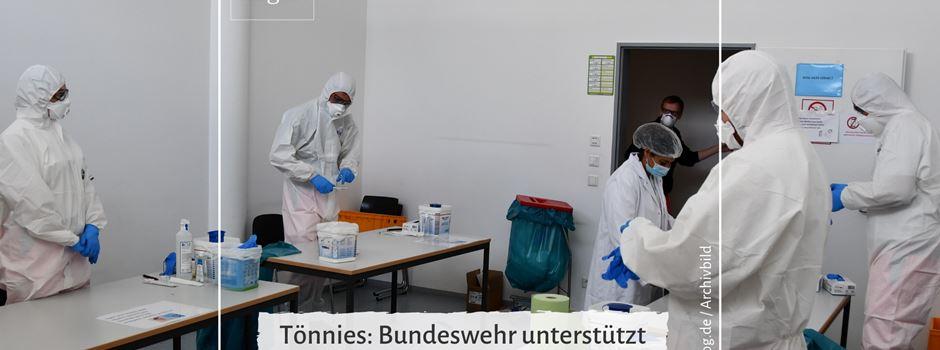 Tönnies: Bundeswehr unterstützt bei Reihentestungen