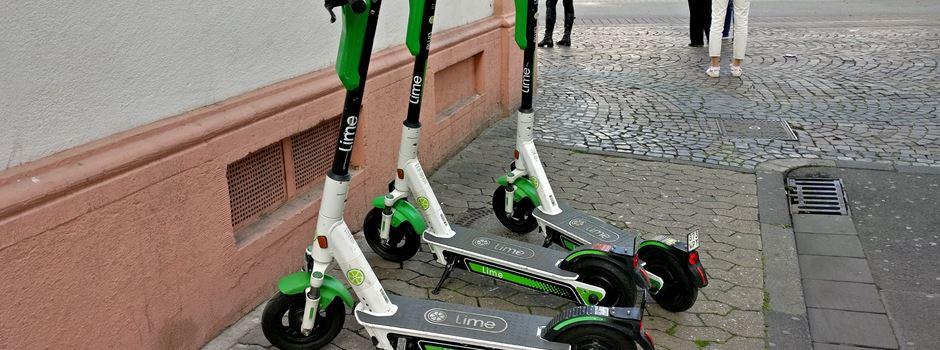 Warum werden E-Scooter in Fußgängerzonen abgestellt?