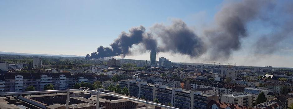 UPDATE: Entwarnung nach Brand in Offenbach