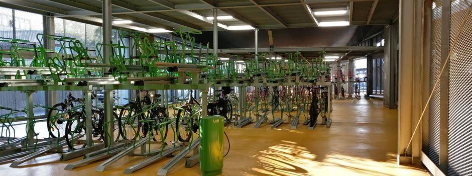 Oft gähnende Leere: Ist das Mainzer Fahrradparkhaus ein Flop?