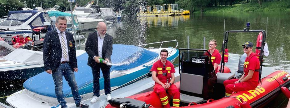"""""""Rheindrache"""": Feierliche Taufe am Mondorfer Hafen"""