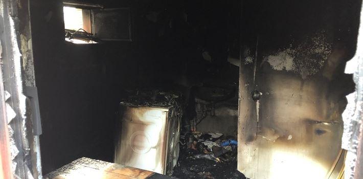 Kellerbrand in Einfamilienhaus in Eich
