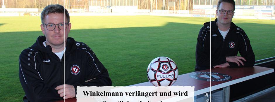 Winkelmann verlängert und wird Sportlicher Leiter im Jugendbereich