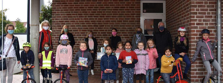 Josefschüler freuen sich über Spenden
