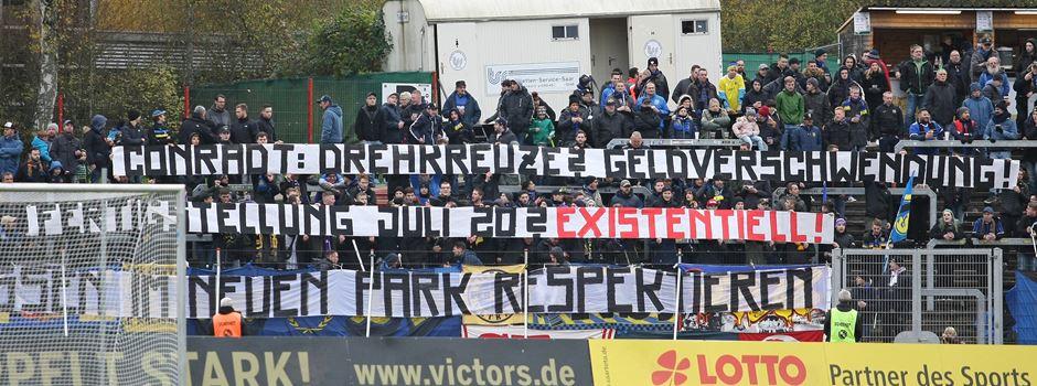 Fans vom 1.FCS wollen einen fertigen Ludwigspark bis 2020
