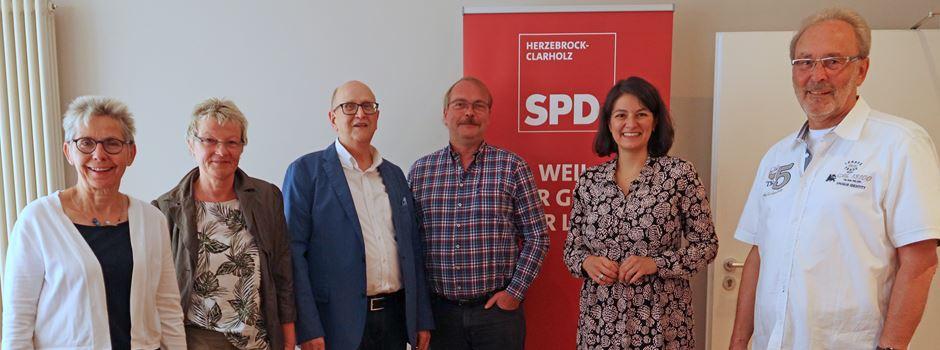 SPD-Ortsverein ehrt ausgeschiedene Ratsmitglieder