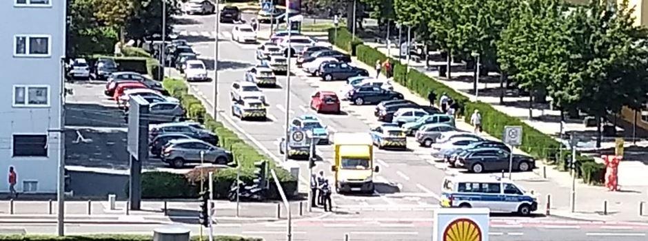 Größerer Polizeieinsatz in der Oberstadt