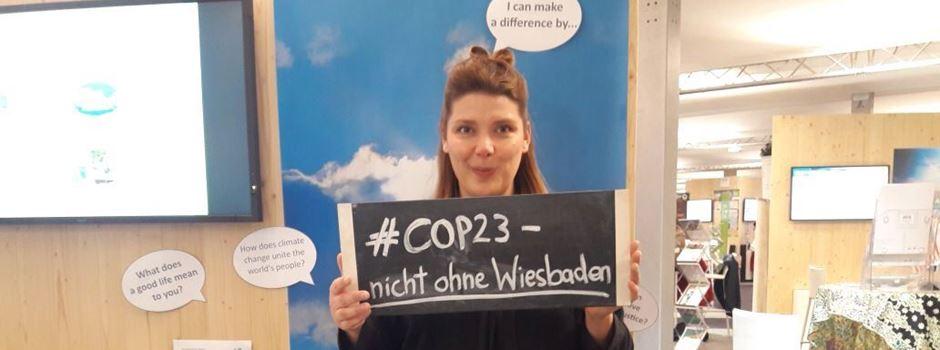 Wiesbadener Klimaschutzmanagerin mischt beim Weltklimagipfel mit