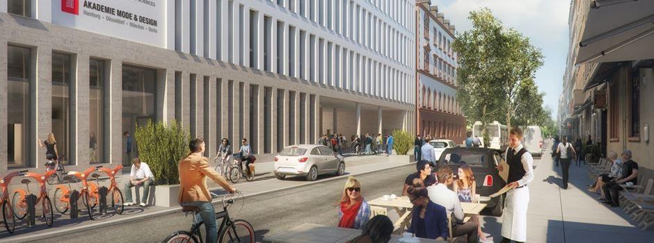 Wann wird die Moritzstraße umgestaltet?
