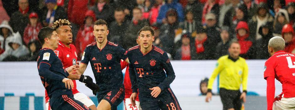 Wechsel-Zoff bei Mainz-Niederlage gegen Bayern München