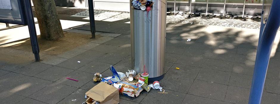 Mainz sagt Müll-Problem den Kampf an