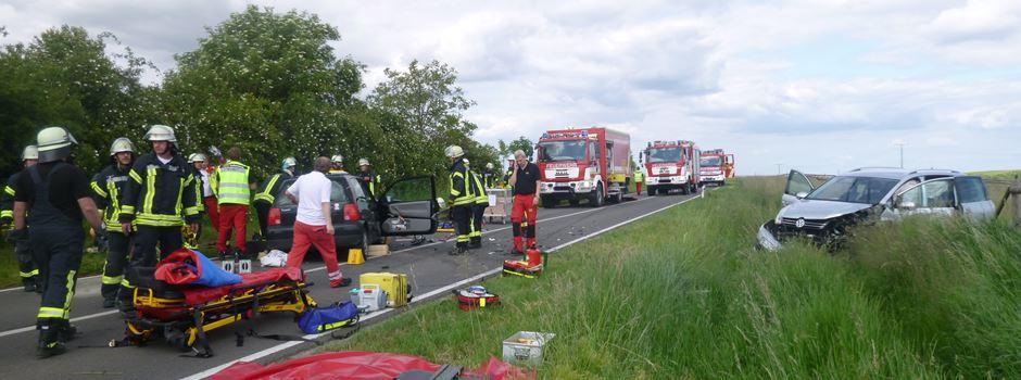 Schwerer Verkehrsunfall auf der K34