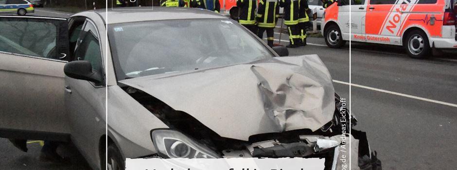 Verkehrsunfall in Pixel
