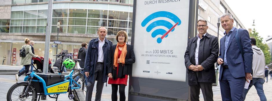 An diesen Orten in Wiesbaden könnt Ihr ab sofort kostenloses WLAN nutzen