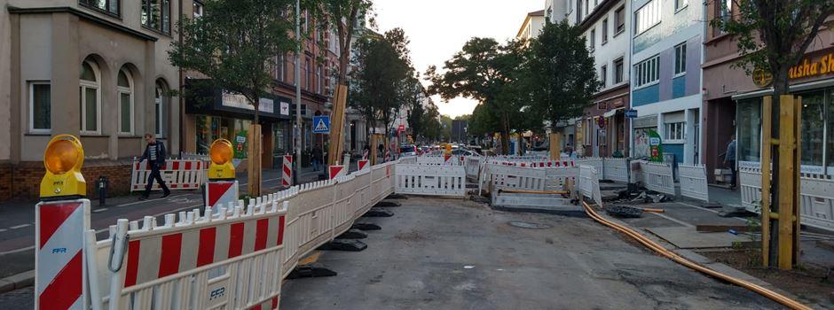 Weitere Bauarbeiten in der Boppstraße - Vollsperrung der Josefsstraße