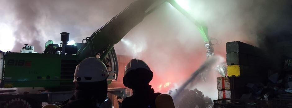 Großbrand in Ginsheim-Gustavsburg