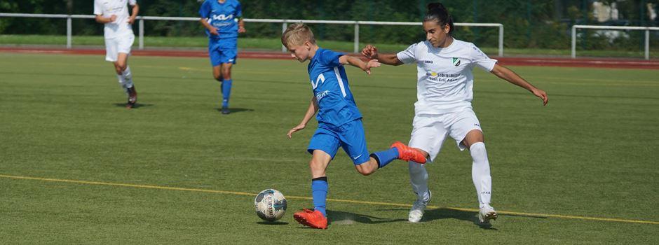 Ein bitterer Saisonauftakt in der Regionalliga für die U15-Kicker des VfB