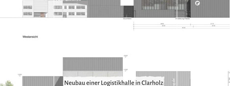 Neubau einer Logistikhalle in Clarholz Thema im Planungsausschuss