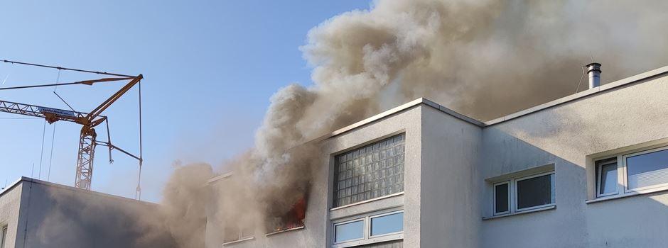 Großeinsatz der Feuerwehr in Wiesbaden