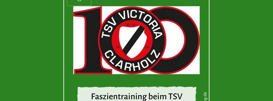Faszientraining beim TSV Victoria Clarholz
