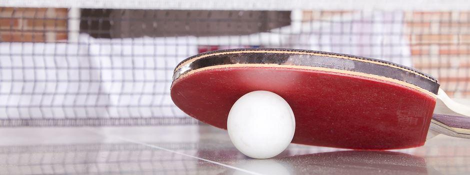 Tischtennis-Training startet heute wieder