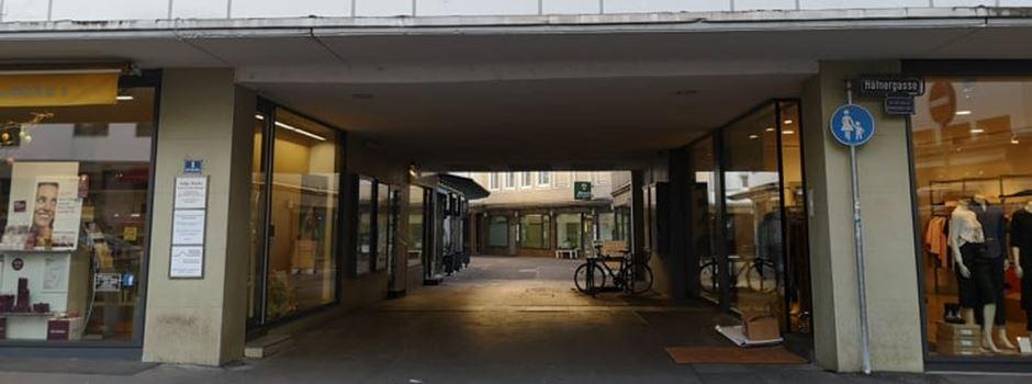 Dreck und Urin: Anwohner beklagen Zustand von Wiesbadener Passage