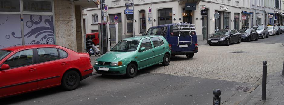 Gibt es mehr Bewohnerparkausweise als verfügbare Parkplätze?