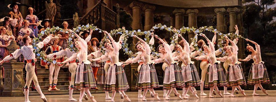 Filme und Ballett aus London