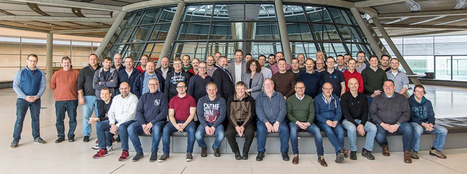 50 Ehrenamtliche in Berlin