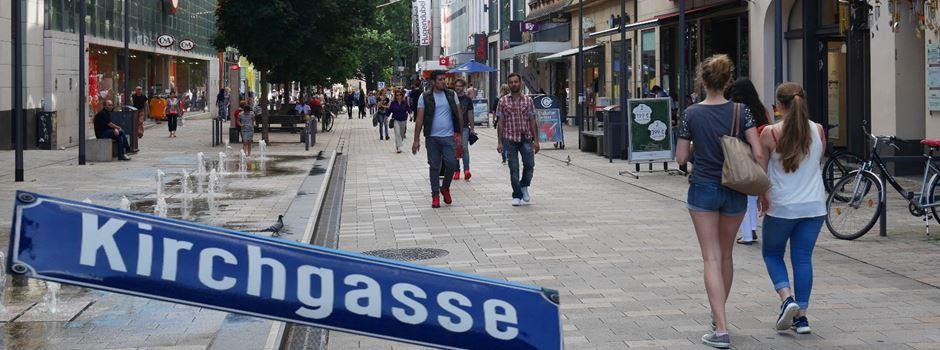 Kirchgasse: eine der beliebtesten Einkaufsstraßen Deutschlands
