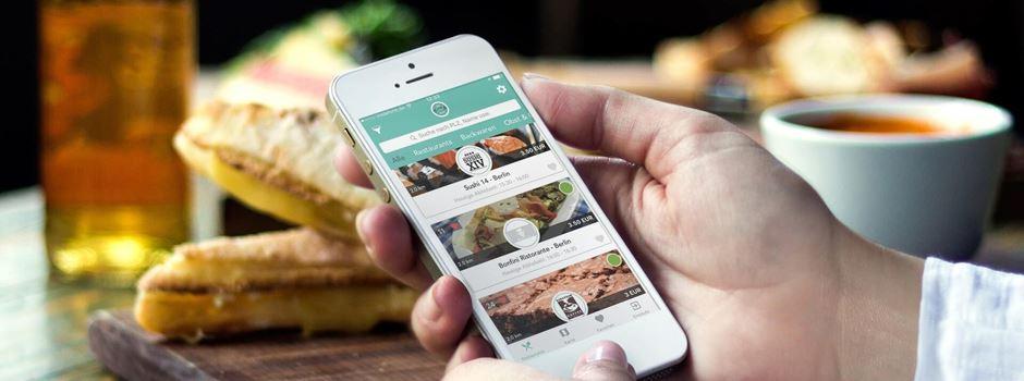 Günstig schlemmen und Lebensmittel retten per App