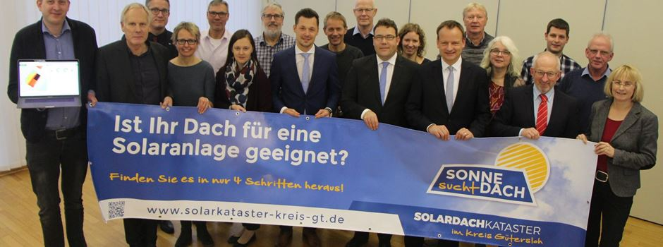 Neues Solardachkataster des Kreises