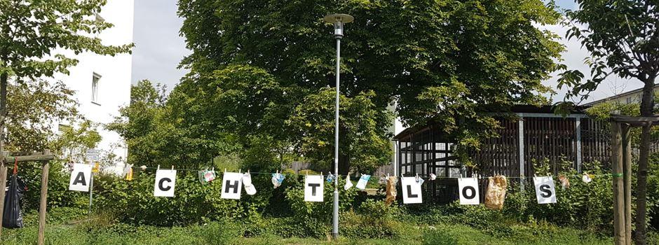 Protestaktion in Hartenberg-Münchfeld sorgt für Diskussionen