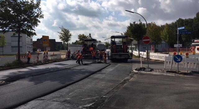 Otto-Hahn-Straße seit heute wieder befahrbar