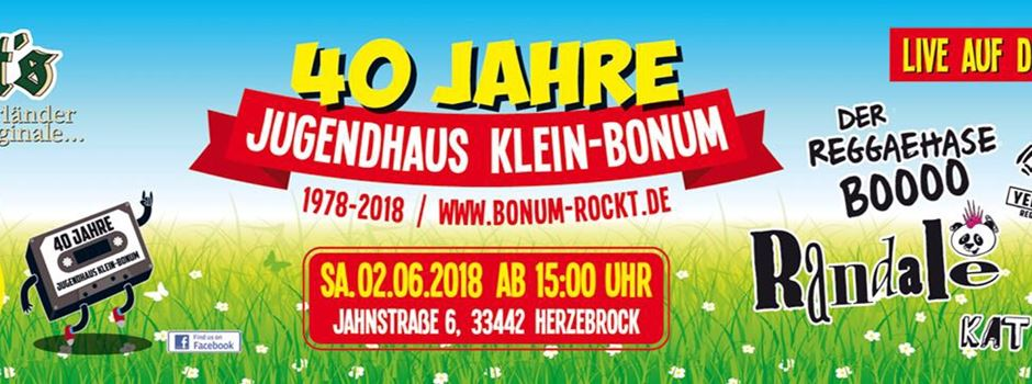 40 Jahre Jugendhaus Klein Bonum