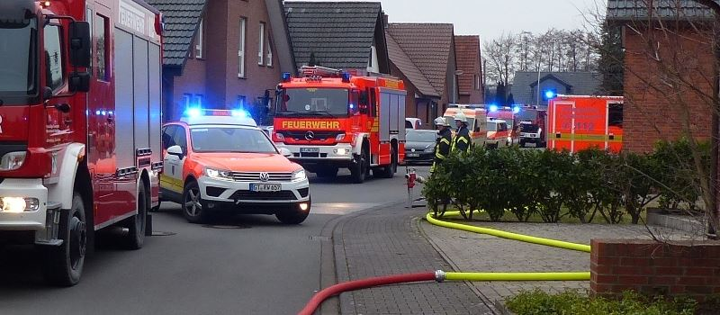 Wohnungsbrand in Herzebrock
